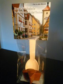 Trinkschokolade am Hlozlöffel - Vollmilch - Rothenburg ob der Tauber
