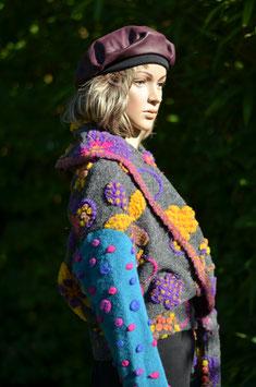 Petite veste en laine