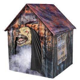 Höllenhund in Hundehütte Animatronic Halloween Deko - Vorverkauf (Lieferung Ende Oktober 2021)