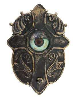 Gruselige Klingel mit Auge