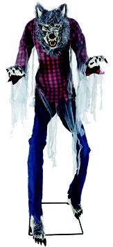Riesiger Werwolf Animatronic Halloween Deko