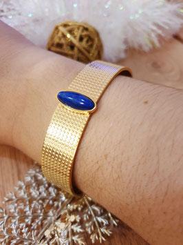 Jonc Perla Lapis Lazuli