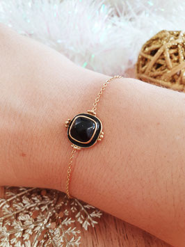 Bracelet Simple Maude Noir
