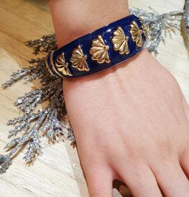 Bracelet Grand Eventail Marine