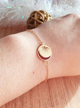 Bracelet Luna Bordeaux