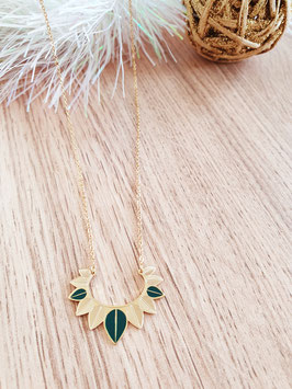Collier Aurore Vert Sapin