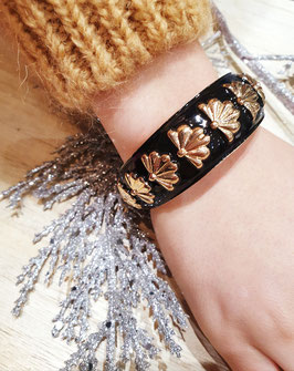 Bracelet Grand Eventail Noir