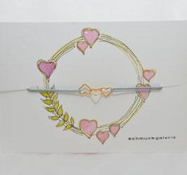 "Armband ""Herzen"""