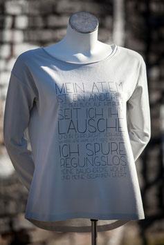 """Leichter Basic-Sweater No 07 """"Mein Atem"""""""
