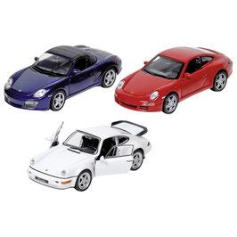 Auto mit Rückzug - Porsche