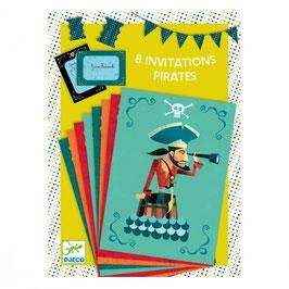 Piraten Einladungen
