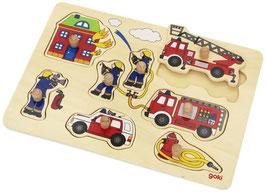 Feuerwehr - Steckpuzzle
