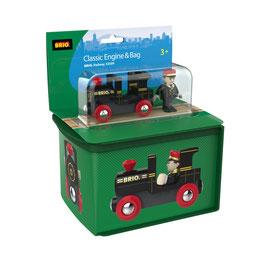 Aufbewahrungsbox mit Lok