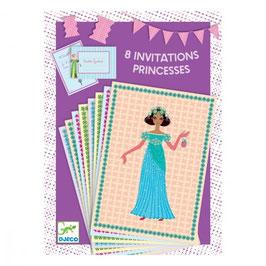 Prinzessin Einladungskarten