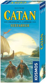 Siedler von Catan - Ergänzung für Seefahrer 5 & 6 Spieler