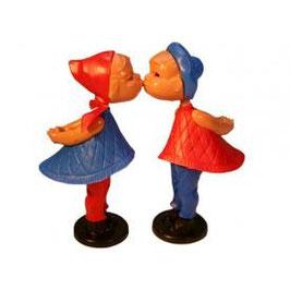 Romeo + Julia Kußpuppen magnetisch