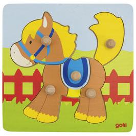 Steckpuzzle - Pferd