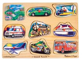 Sound Puzzle Fahrzeuge