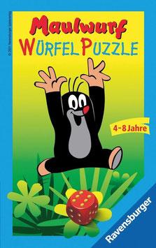 Maulwurf Würfelpuzzle - Kinderspiel