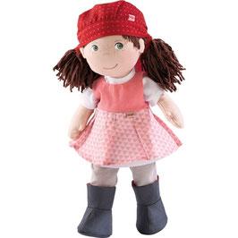 Puppe Lisbeth Kopftuch und Gummistiefel