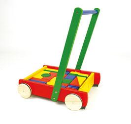 Baby Walker mit 24 Bausteinen Lauflernwagen
