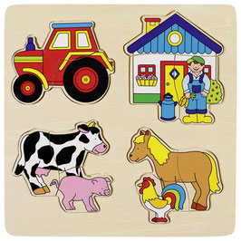 Bauernhof  Puzzle - 12teilig