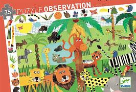 Puzzle Dschungel - 35 Teile
