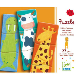Puzzle - Lustige Tiere