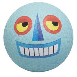 18 cm Ball - Roboter hellblau