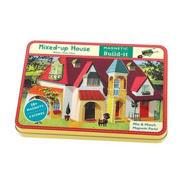 Magnetic Figures Mixed up House