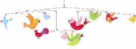 Mobile Vögel