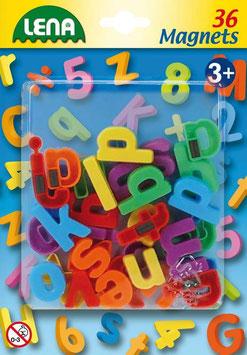 Magnet klein Buchstaben