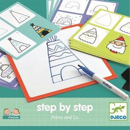 Primo Zeichentafeln - Schritt für Schritt - Step by Step