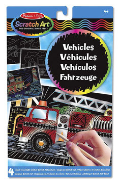 Scratch Art - Fahrzeuge