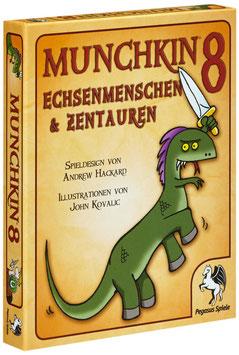 Munchkin 8-  Echsenmenschen