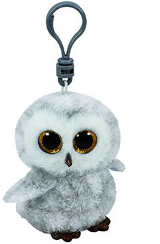 Owlette Clip Eule - weiss, 8,5 cm,