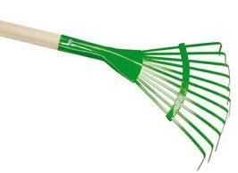 Laubrechen - grün 90 cm