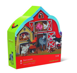 Shaped Puzzle Barnyard - Puzzle Stall