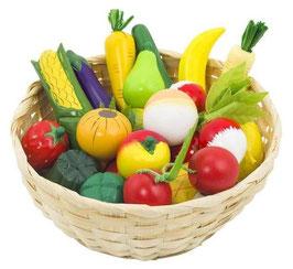 Gemüsekorb 17-teilig