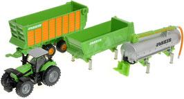 Traktor Deutz - mit Anhängerset