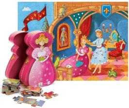 Die Prinzessin und der Froschkönig - 36 Teile
