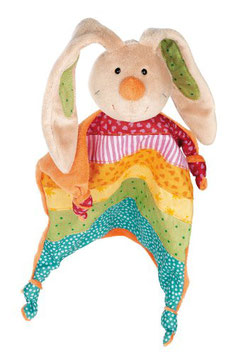 Schnuffeltuch - Rainbow Rabbit