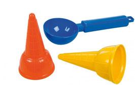 Sandspielzeug Eis Set