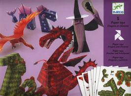 Papierkunst Drachen - Faltkunst