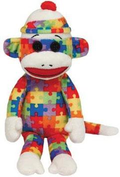 Sock Monkey - 15cm
