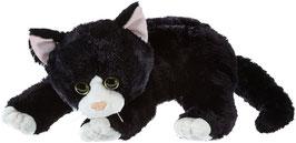 Shadow Plüsch Katze - 33cm schwarz