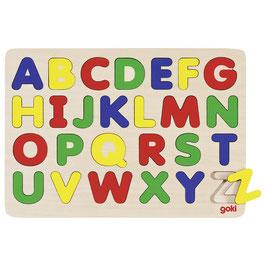 ABC Einlegepuzzle aus Holz