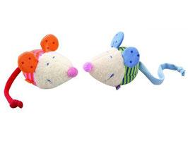 Mäuse - Blau-Quietschen oder Orange-Klappern