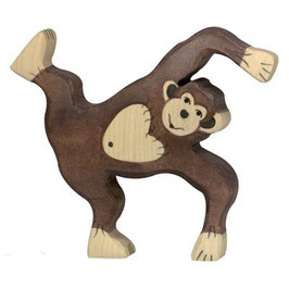 Schimpanse - spielend