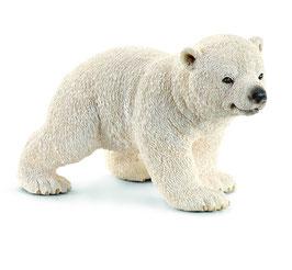 Eisbärjunge, laufend